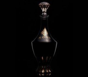 Водка в золоте и хрустале от бренда Kors Vodka стоит $24.500