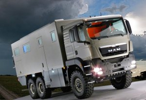 Компания Action Mobil выпустила грузовик Global XRS 7200 для роскошных путешествий