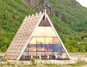 Самая северная и большая сауна построена в норвежском заполярье