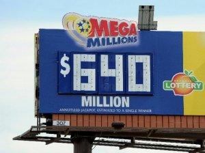 Небывалый выигрыш в $640 миллионов придется делить на троих