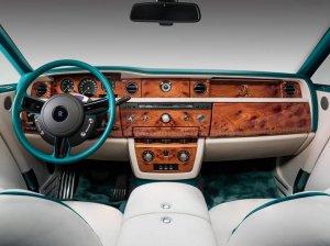 Rolls-Royce из серии Phantom Maharaja Peacock Drophead Coupe будет стоить почти $1 миллион