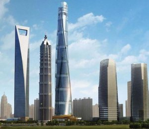 Открытие Шанхайской башни запланировали на осень