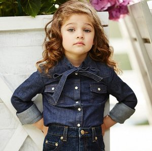 Модельер Александр Терехов презентовал детскую линию одежды