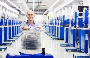 Российский искусственный сапфир весит 300 кг