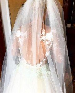 Каким было свадебное платье Татьяны Волосожар