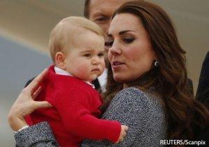 Герцогов Уильяма и Кэтрин раздражает интерес прессы к принцу Джорджу