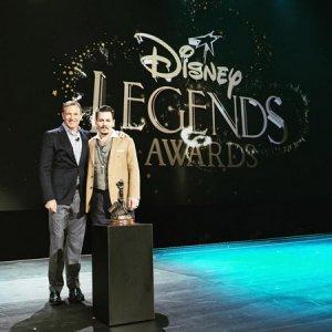 Джонни Деппа наградили «Легендой Диснея»
