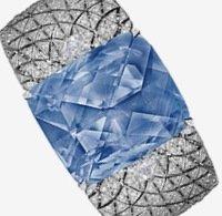 Ювелирно-часовой бренд Cartier показал браслет с сапфиром императрицы Марии Федоровны
