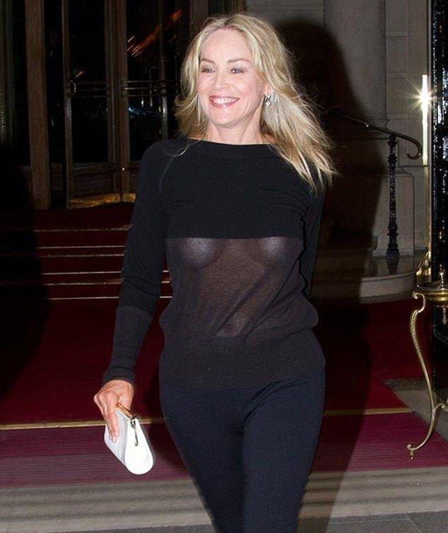 Шерон стоун откровенные фото