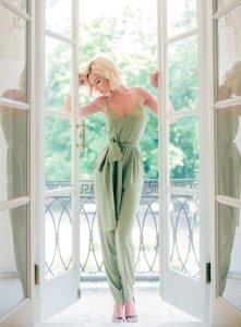 Полина Гагарина продемонстрировала новую коллекцию одежды ателье Alexander Terekhov