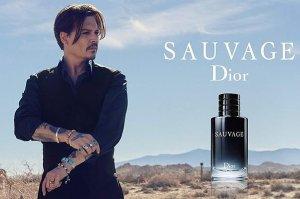 Джонни Депп стал лицом мужского парфюма - Dior Sauvage