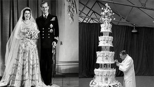 Свадебный торт Елизаветы II распродают до сих пор