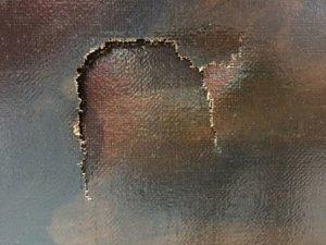 На тайваньской выставке мальчик сделал дырку в картине стоимостью $1.500.000 (видео)