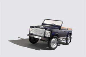 Детская версия роскошного Land Rover Defendor будет продаваться за $15.300