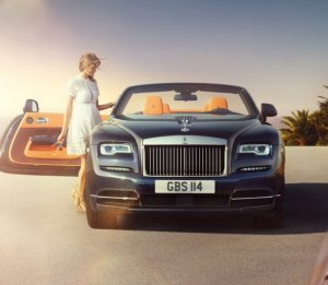 Роскошный кабриолет Rolls-Royce Dawn