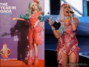 Кукла Барби в честь Леди Гаги