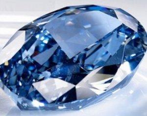 Бриллиант Blue Moon был оценен в $55 миллионов