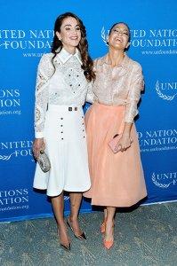 Дженнифер Лопес с королевой Ранией обсудили за ужином дела фонда защиты женщин