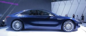 Тайваньский конкурент электромобиля Tesla Model S будет показан во Франкфурте