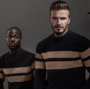 Лицами осенней коллекции H&M стали Дэвид Бекхэм и Кевин Харт (видео)