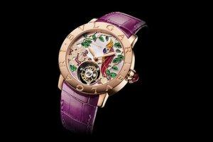 Презентованы ювелирные женские часы с турбийоном от Bulgari