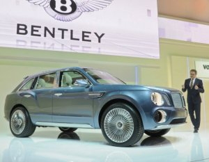Превращение кроссовера Bentley в автомобиль для выезда на пикник