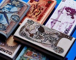 Коллекция сумок в честь старинных банкнот от Керола Тессьера