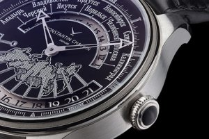 Уникальные часы показывают 11 часовых поясов
