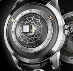 Часы для мусульман от известной часовой фирмы Christophe Claret