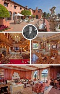 Знаменитая недвижимость: поместье Уильяма Рэндольфа Херста и дом, где встречались принц Уэльский и Уоллис Симпсон