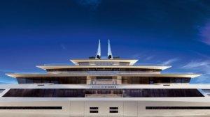 Идеальная симметрия в роскошной яхте Symmetry от компании Sinot