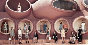 Необычный Дворец Пузырей, принадлежавший Пьеру Кардену, уходит с молотка  за $450 миллионов