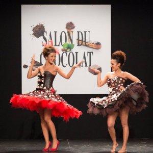 Шоколадное дефиле во время Salon du Chocolat