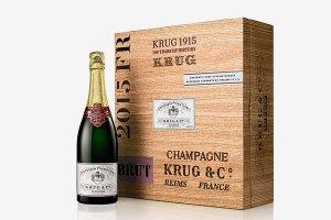 На Sotheby's ушла с молотка бутылка шампанского за $116.375, произведённая в 1915 году