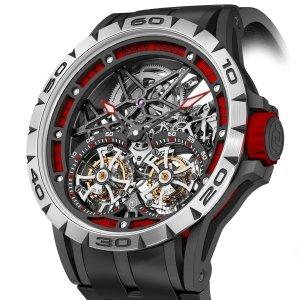 Спортивные часы Excalibur Spider от бренда Roger Dubuis (видео)