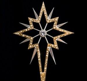 К предстоящим торжествам в Великобритании создали самую гламурную рождественскую звезду