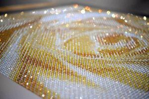 Живописные полотна из кристаллов Swarovski от Crystal Artworks