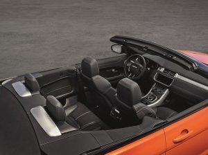 Компания Range Rover презентовала модель джипа-кабриолета Evoque Convertible