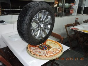 Пицца с необычной начинкой из Бразилии