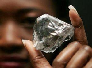 Самый большой алмаз из Африки