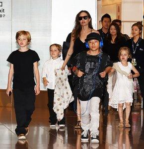 Работа сына Анджелины Джоли и Брэда Питта