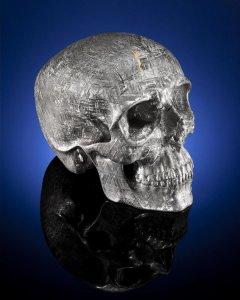 Череп из метеоритного железа уйдёт с молотка на аукционе Bonhams