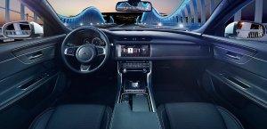 Роскошный седан VIP-класса Jaguar XF 2016