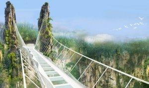 Самый большой в мире стеклянный мост