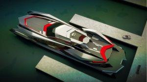 Яхта от Gray Design, названная в честь мифического чудовища