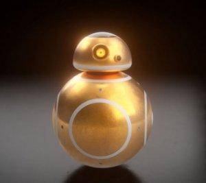 BB-8 – золотой робот из новой трилогии «Звездные войны» (видео)