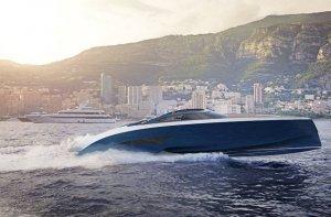 Спортивная яхта Niniette, произведенная Bugatti и Palmer Johnson