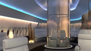 Капсулы с панорамным обзором для VIP-пассажиров (видео)