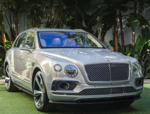 Американский дебют паркетника Bentley Bentayga First Edition