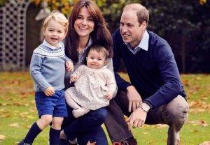 Новые фотографии семьи герцогов Уильяма и Кейт